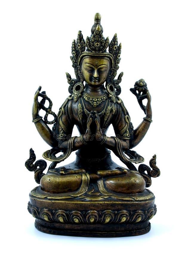 Efigie budista imagen de archivo libre de regalías