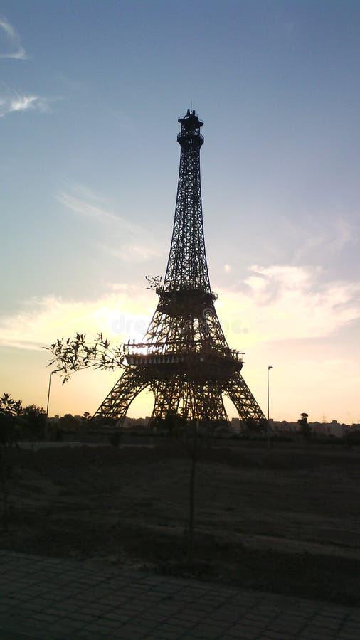 Efil-Turm stockbilder