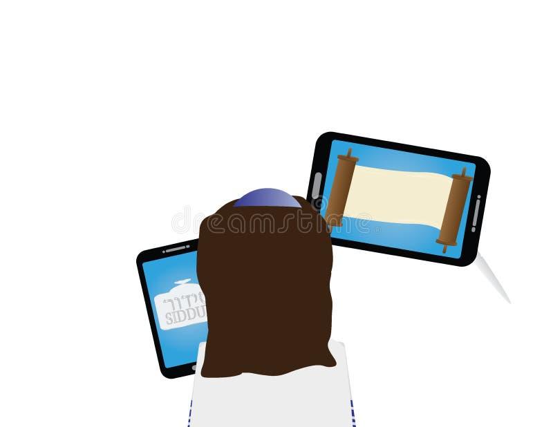 Download Eform Dziewczyny Żydowski Uczenie Dla Nietoperza Mitzvah Ilustracja Wektor - Ilustracja złożonej z nastoletni, tradycja: 106906383
