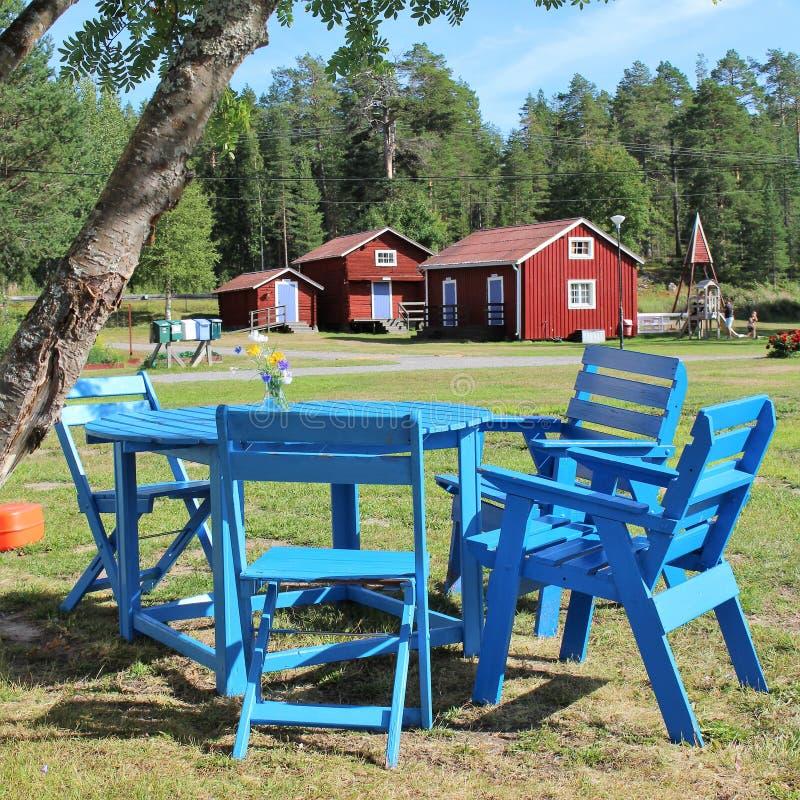 EFS Sundet in Luleå stock afbeeldingen