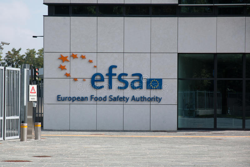Efsa headquarters stock photos