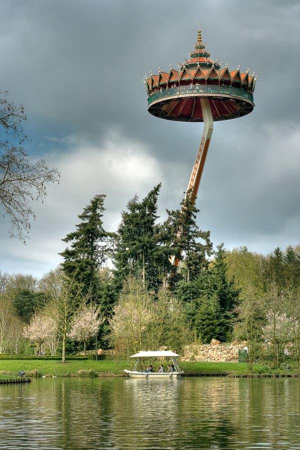 Efteling, parque de diversões nos Países Baixos imagem de stock