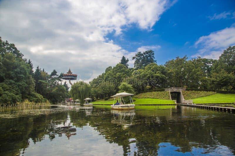 Efteling - parque temático na Holanda imagens de stock