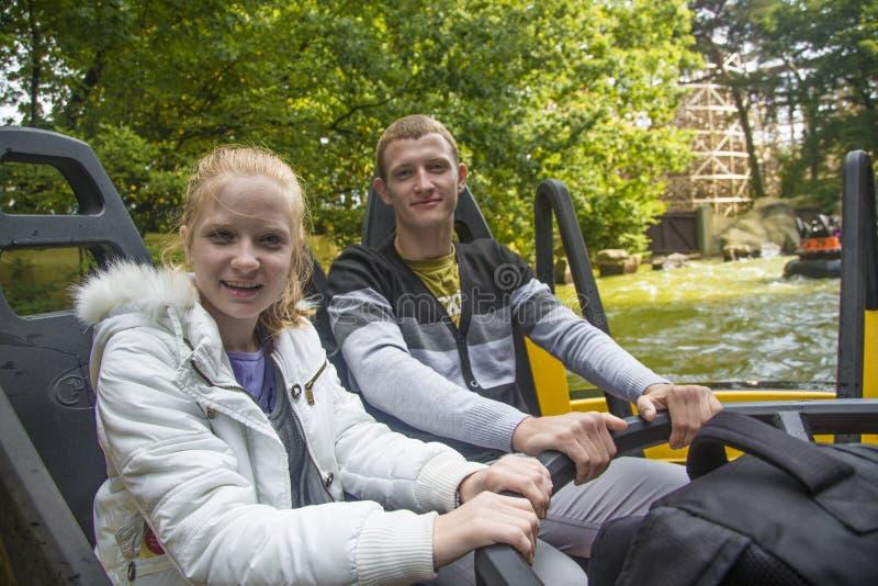 Efteling - parque temático na Holanda foto de stock royalty free