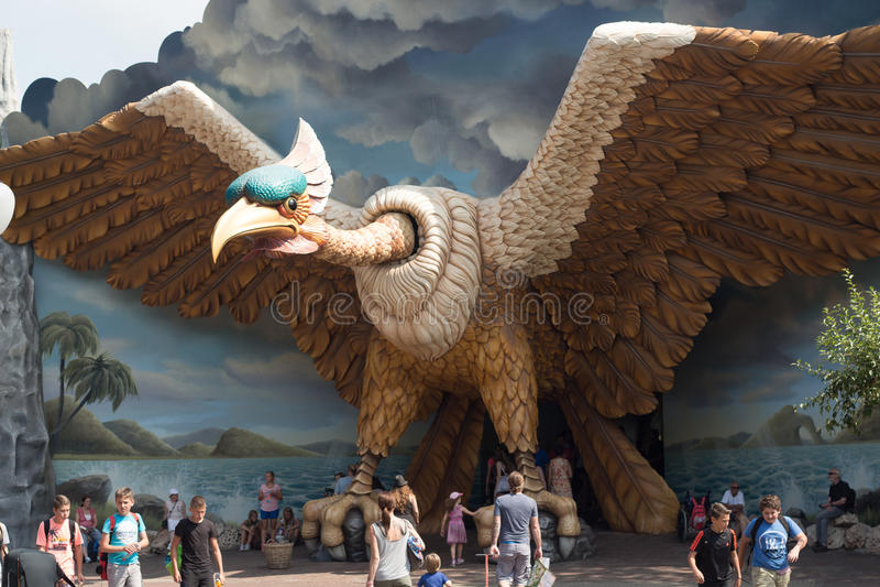 Efteling Vogelrok royalty-vrije stock foto