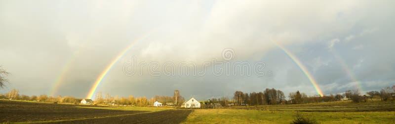 Efter höstregn arkivfoto