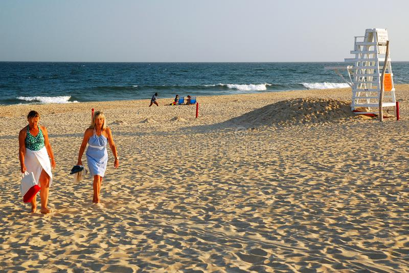 Eftermiddag för sen sommar, östliga Hampton royaltyfria foton