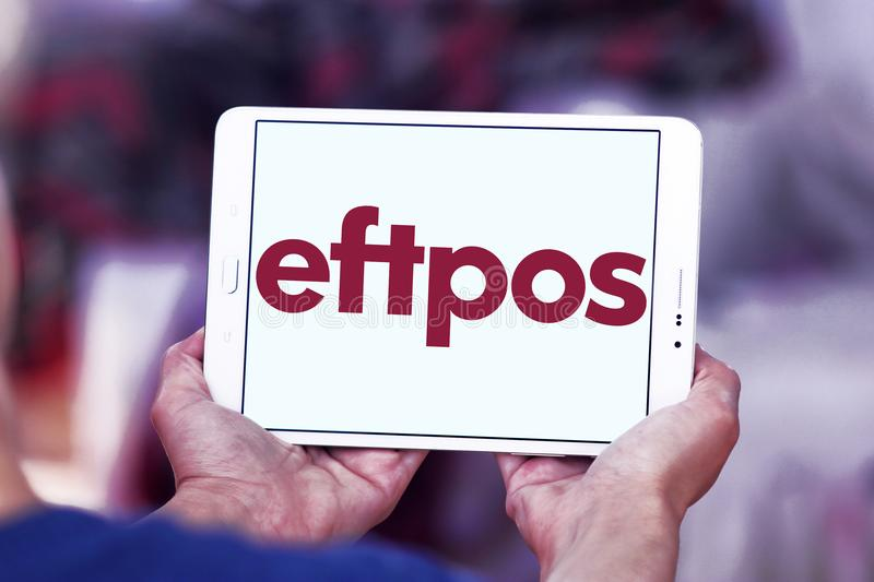 EFTPOS payment system logo stock images