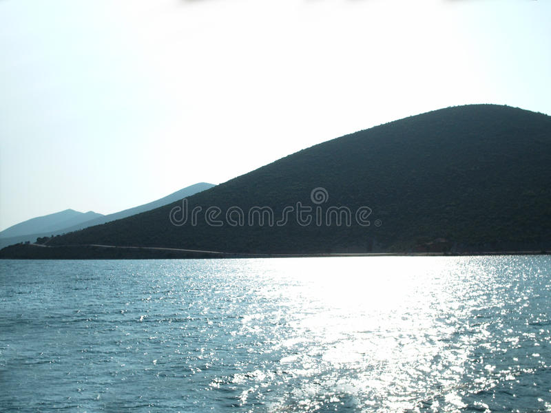 Egeïsch eiland royalty-vrije stock fotografie