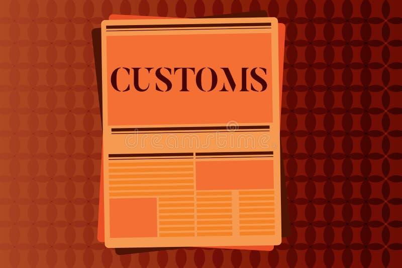 Egenar för handskrifttexthandstil Begreppet som betyder officiell avdelning, administrerar samlar arbetsuppgifter på importerat g vektor illustrationer