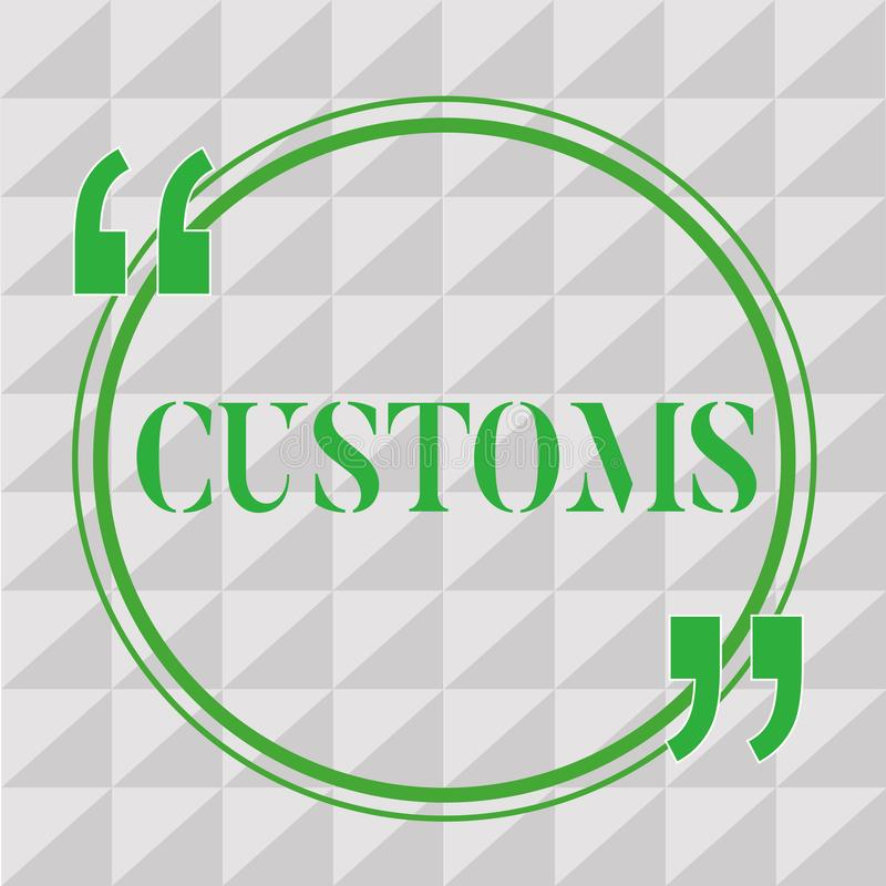 Egenar för handskrifttexthandstil Begreppet som betyder officiell avdelning, administrerar samlar arbetsuppgifter på importerat g stock illustrationer