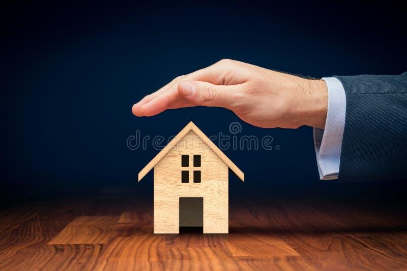 Egenskap insurance arkivfoto