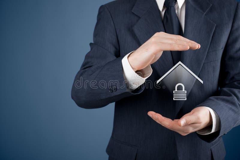 Egenskap insurance arkivfoton
