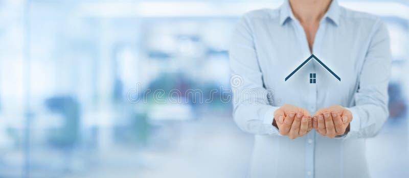 Egenskap insurance royaltyfri fotografi