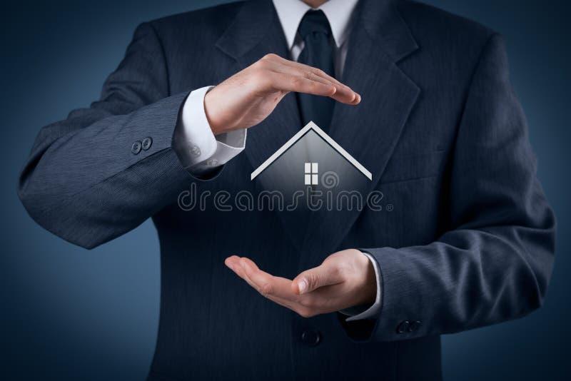 Egenskapsförsäkring arkivfoto