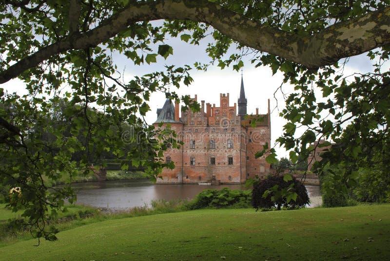 Egeskov Castle royalty free stock images