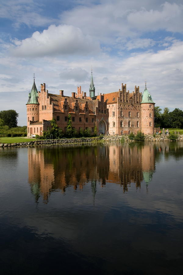 Download Egeskov castle stock image. Image of palatial, exterior - 20644465
