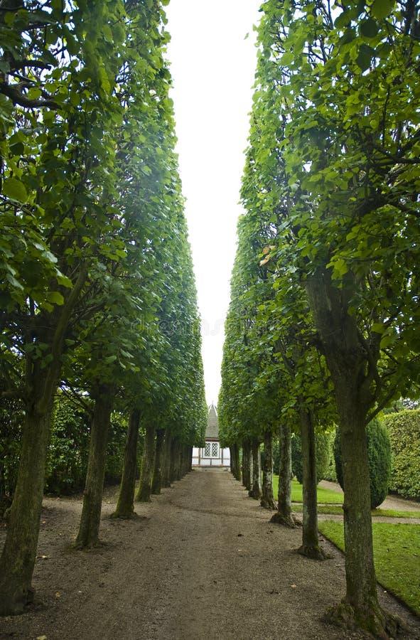 Egeskov castle park royalty free stock photography