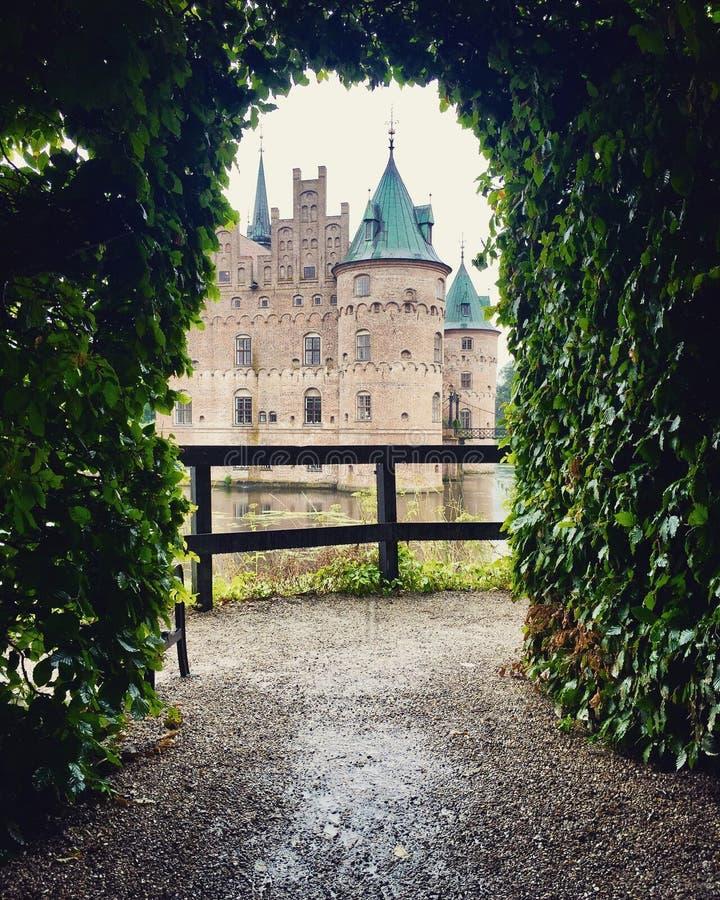 Egeskov slott royalty free stock photos