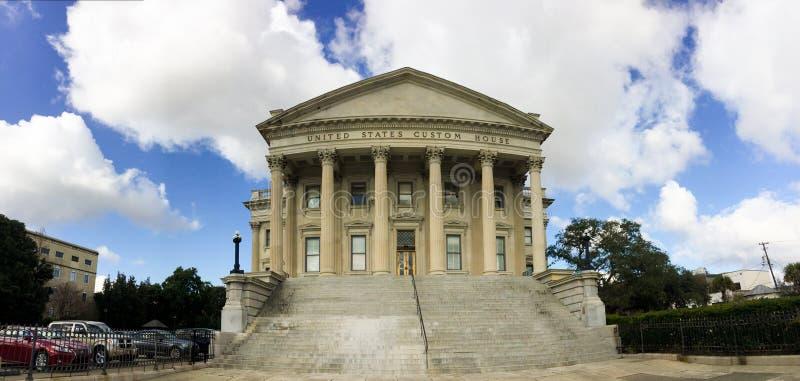 Eget hus för Förenta staterna, charleston, SC royaltyfria foton