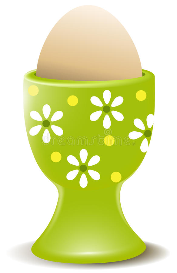 Download Egg stock vector. Image of eating, eegcup, spring, homemade - 29457054