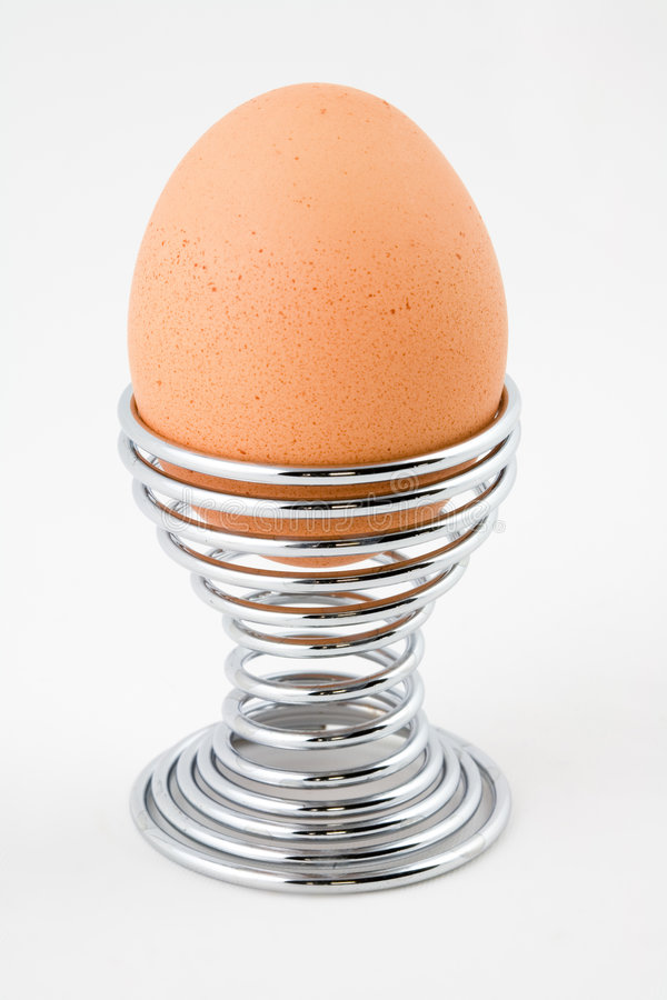 Free Egg And Spiral Eggcup Stock Photography - 1855352