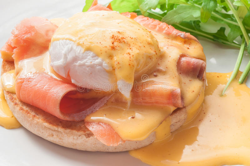 Egg Benedict stock images