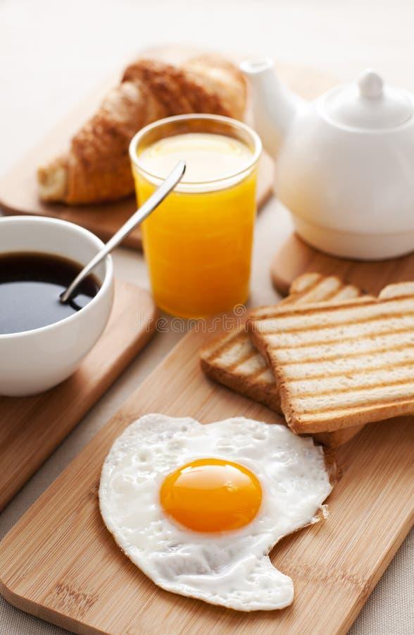 Egg for breakfast stock photos