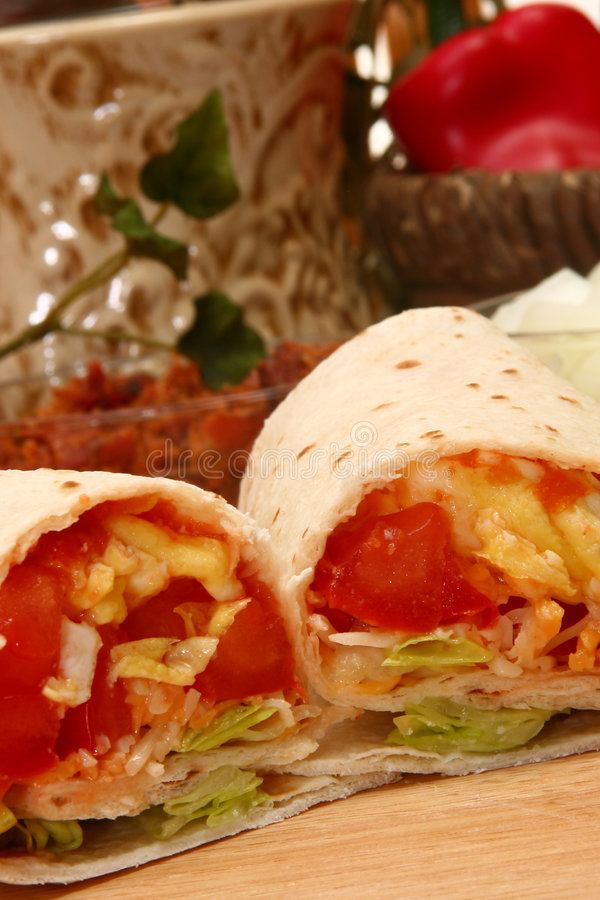 Download Egg Burrito stock photo. Image of gourmet, cooking, breakfast - 5505776
