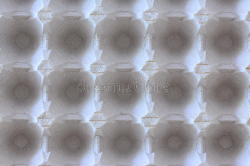 Egg carton pattern stock photography