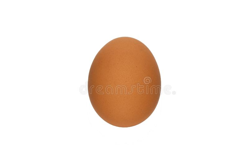 Egg, eggs, food, brown, isolated stock image