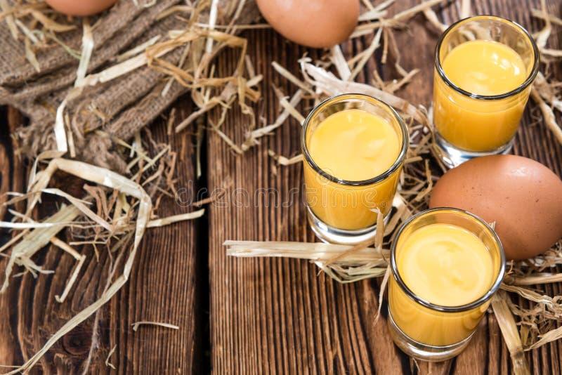 Egg Liqueur royalty free stock photo