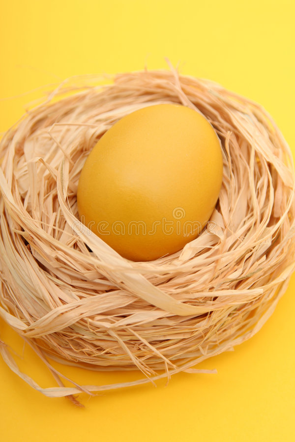 Download Egg In A Nest Stock Photography - Image: 521042