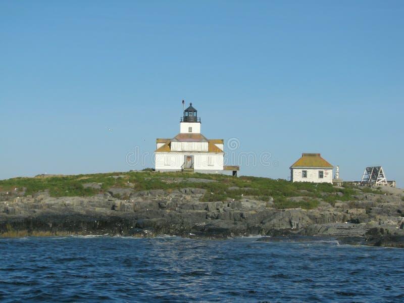 Egg Rock Lighthouse Maine, USA stock photos