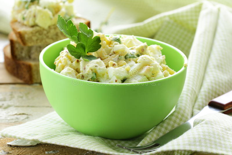 Egg salad stock images