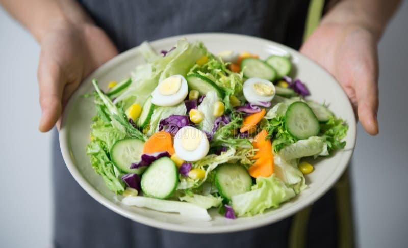 Egg salad stock photography
