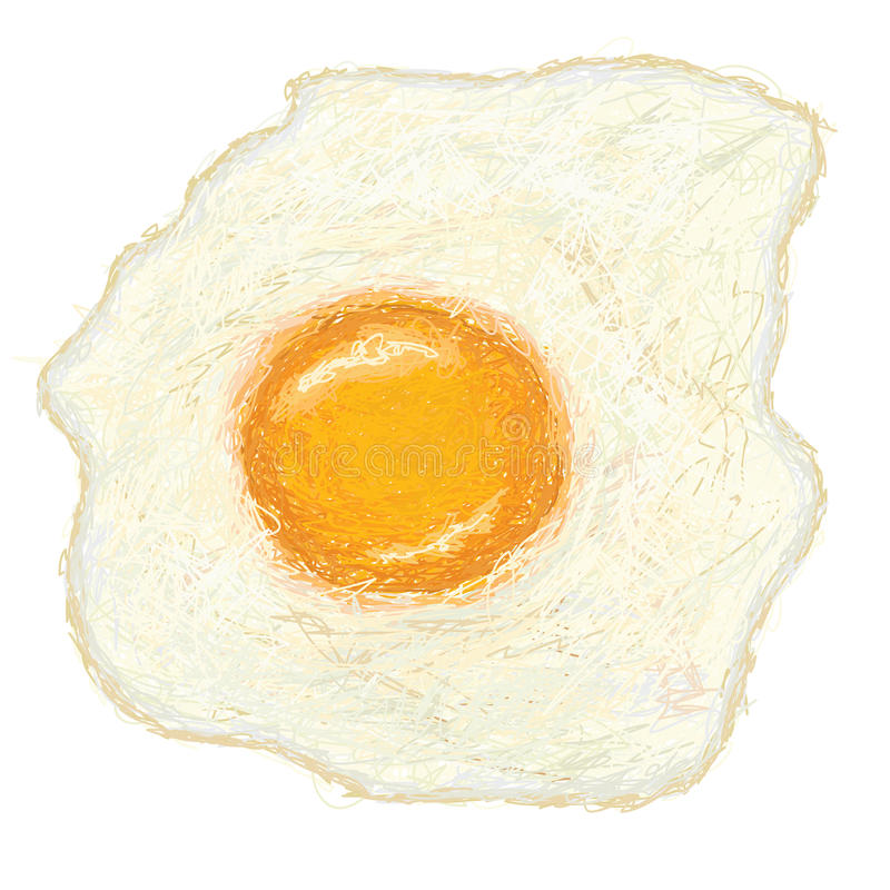 Download Egg-sunny-side-up stock vector. Illustration of product - 29533460