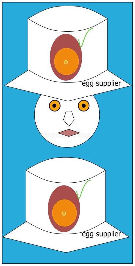 Egg supplier stock photography