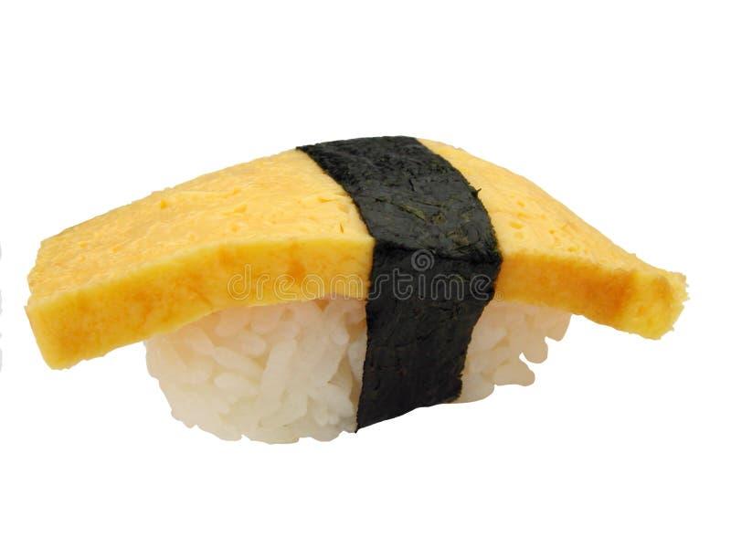 Egg Sushi (Tamago) lizenzfreie stockfotografie