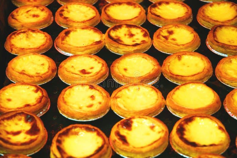 Egg tart royalty free stock photo