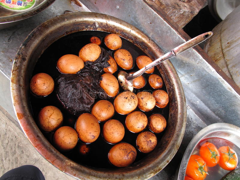 Download Egg - Tea egg stock image. Image of street, typical, snack - 14852177