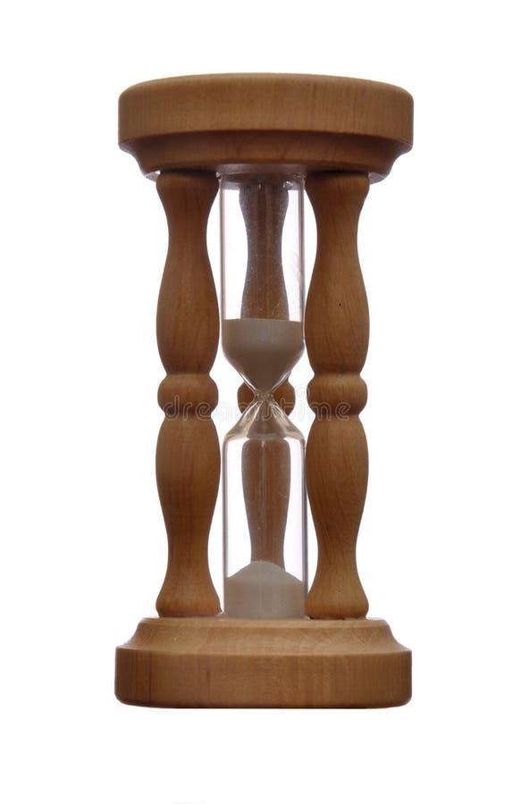 Egg timer - half time royalty free stock image