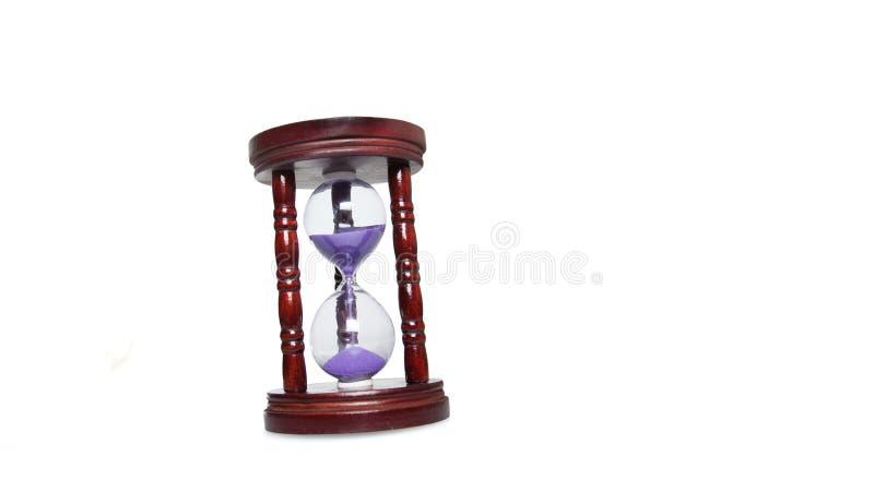 Egg timer isolated on white royalty free stock photo
