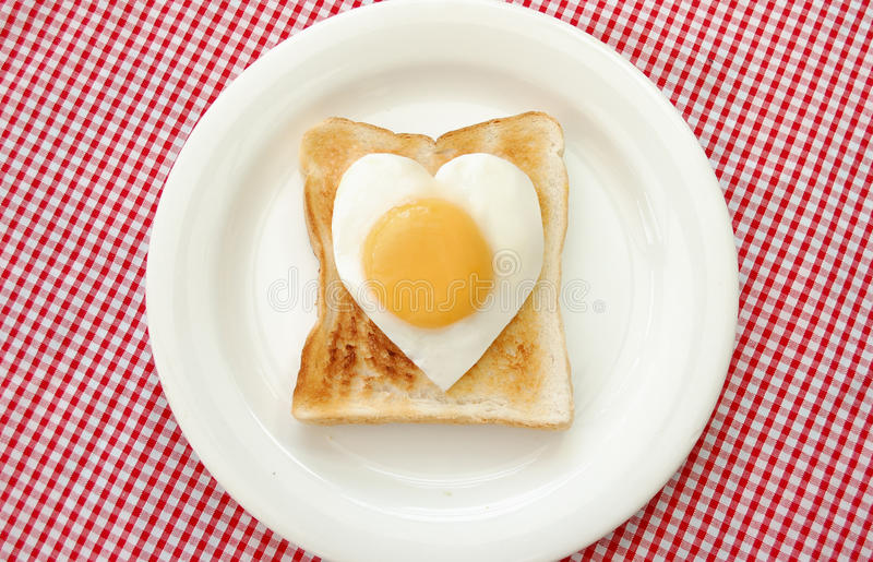 Download Egg and toasted bread stock image. Image of snack, protein - 14283453