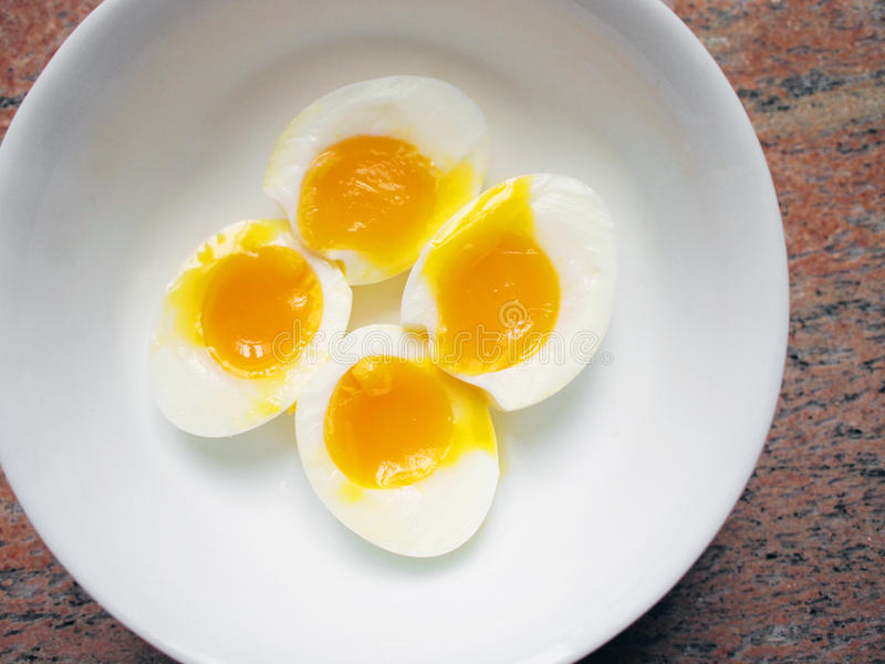 Download Egg yolk stock photo. Image of runny, cooked, fluid, protein - 12822482