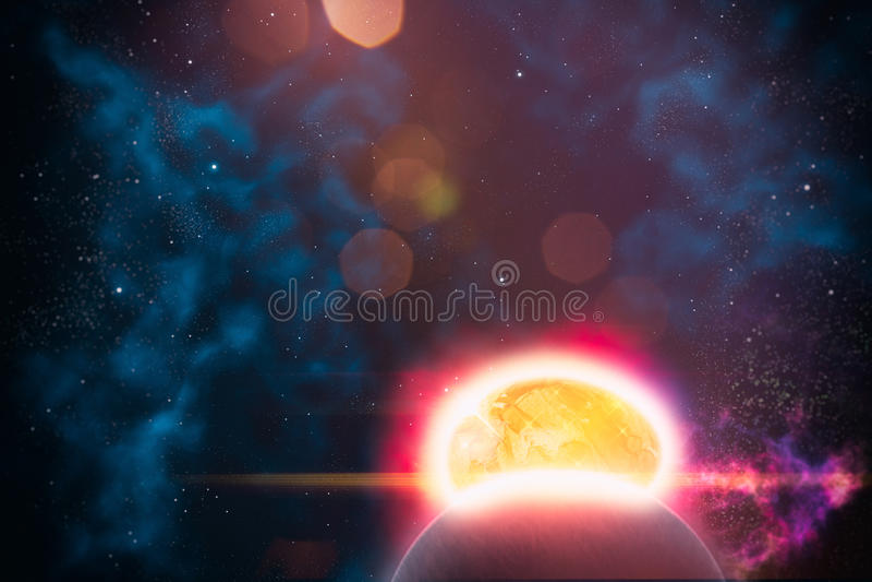 Eggclipse vector illustratie
