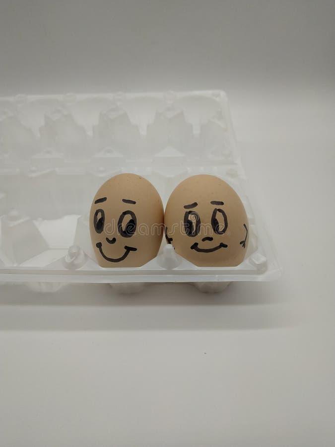 Egge-equipa imagem de stock