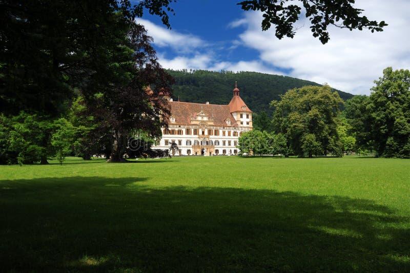 Eggenberg Schloss in Graz lizenzfreie stockfotografie