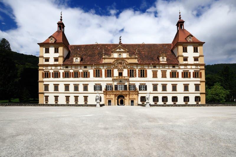 Eggenberg Schloss in Graz stockfoto