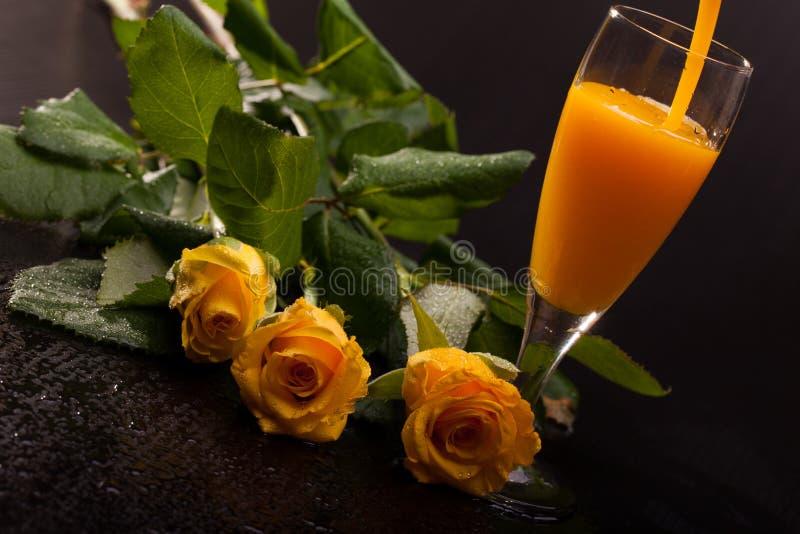 eggnog τριαντάφυλλα στοκ φωτογραφία με δικαίωμα ελεύθερης χρήσης